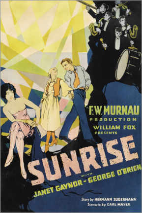 Póster Sunrise with Janet Gaynor