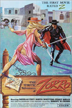Póster The erotic adventures of Zorro