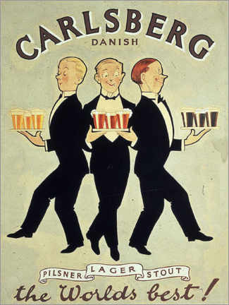 Lienzo  Carlsberg - Advertising Collection