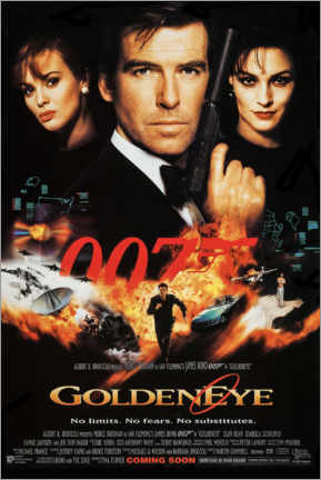 Póster James Bond: Goldeneye