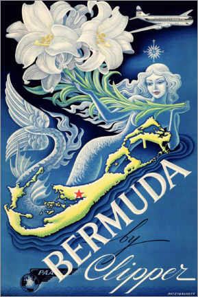 Póster  Bermuda - Travel Collection