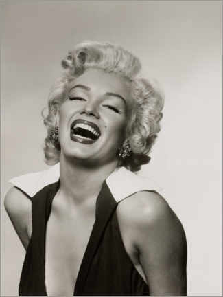 Cuadro de metacrilato  Marilyn con una sonrisa radiante - Celebrity Collection