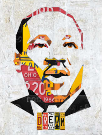 Póster Martin Luther King