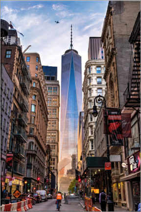 Lienzo  One World Tower en Nueva York - Mike Centioli
