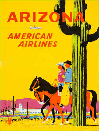 Póster  Arizona - Travel Collection