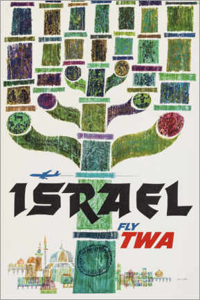 Póster  Israel - Travel Collection