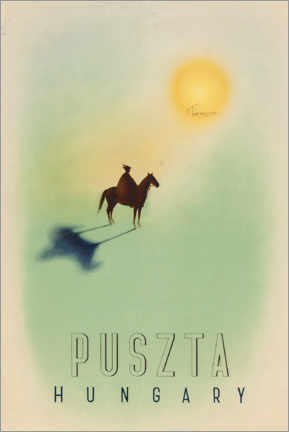 Póster  Puszta, Hungría - Travel Collection