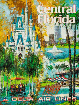 Póster  Central Florida - Travel Collection