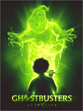 Cuadro de aluminio  Ghostbusters - The Usher designs