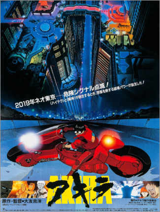 Cuadro de metacrilato  Akira - Entertainment Collection