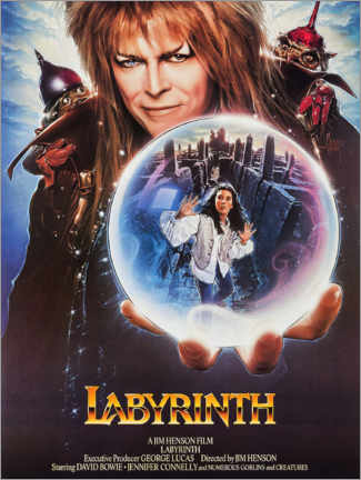 Lienzo  Labyrinth - Entertainment Collection
