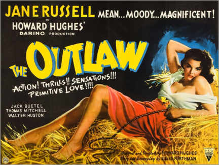 Póster  The Outlaw - Entertainment Collection