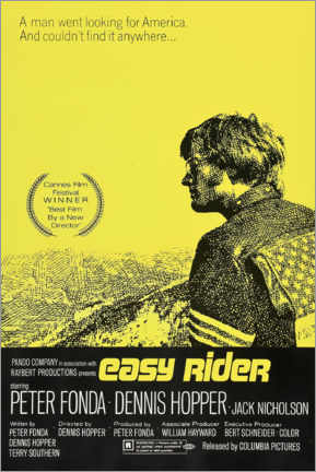 Lienzo  Easy Rider - Entertainment Collection
