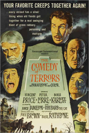 Póster The Comedy of Terrors