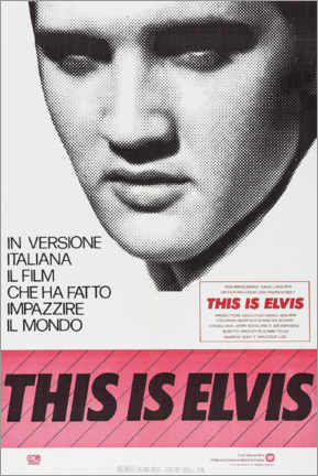 Lienzo  This is Elvis - Entertainment Collection