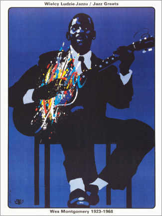 Póster Wes Montgomery 1923 - 1968
