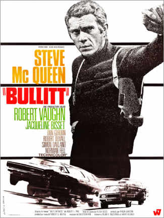 Póster  Bullitt - Entertainment Collection