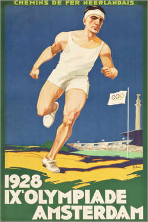 Cuadro de metacrilato  IX. Olympiade 1928 - Entertainment Collection