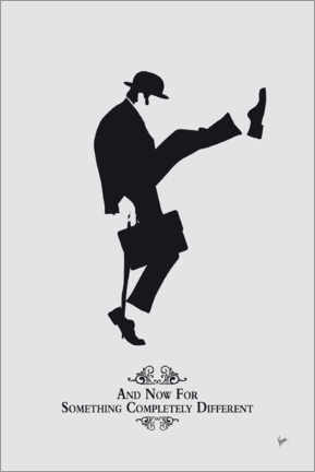 Cuadro de madera  Ministry of Silly Walks - chungkong