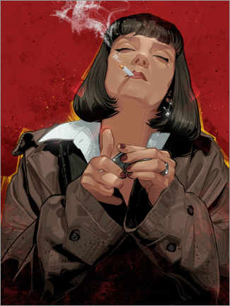 Póster Mia Wallace