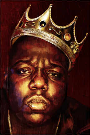 Lienzo  Biggie Smalls - Dmitry Belov