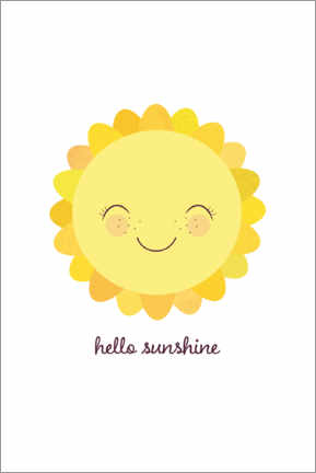 Póster Hello sunshine