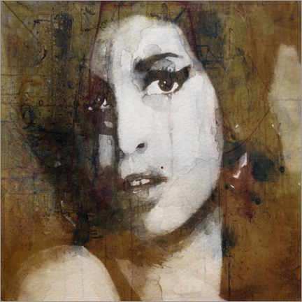 Vinilo para la pared  Amy Winehouse - Paul Lovering