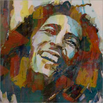 Póster  Bob Marley - Paul Lovering