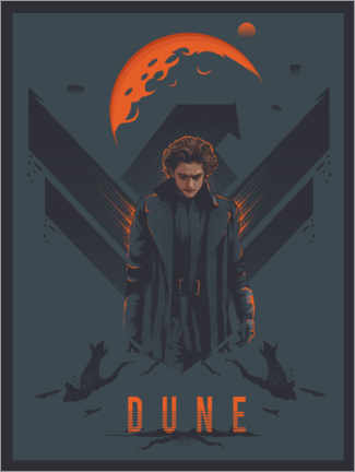 Cuadro de metacrilato  Dune - The Usher designs