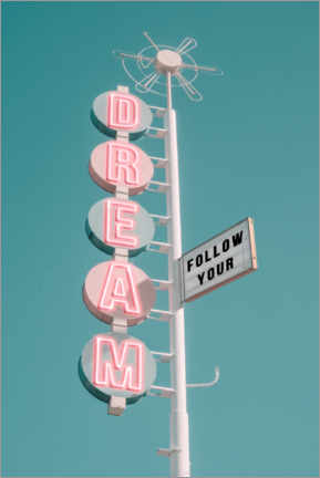 Cuadro de aluminio  Follow your dream - Jonas Loose