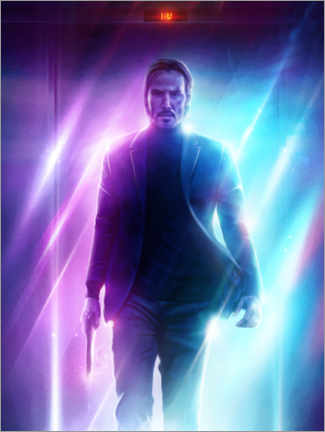 Póster  John Wick - The Usher designs