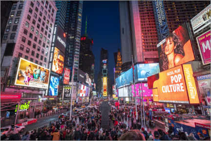 Cuadro de metacrilato  Times Square en Nueva York - Jan Christopher Becke
