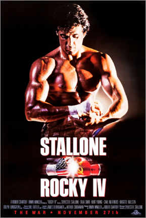 Cuadro de metacrilato  Rocky IV - Entertainment Collection