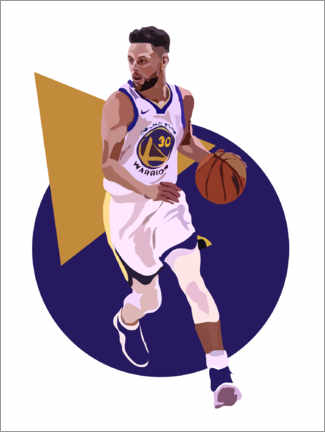 Póster  Stephen Curry - Anna McKay
