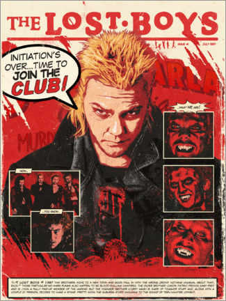 Póster  The Lost Boys - The Usher designs