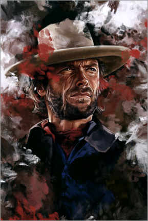 Póster  The Outlaw Josey Wales - Dmitry Belov