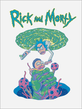 Póster  Rick and Morty Portal