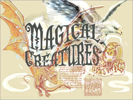 Póster  Magical Creatures