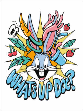 Póster  Bugs Bunny - What's Up Doc?