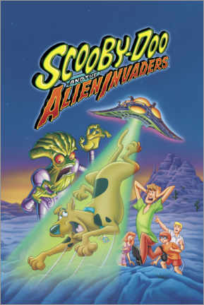 Póster  Scooby-Doo And The Alien Invaders