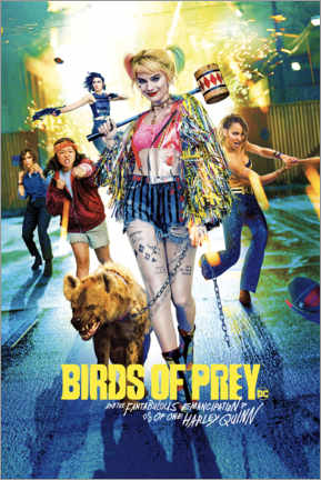 Póster  Harley Quinn - Birds of Prey