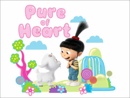 Póster Agnes, pure of heart