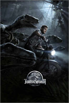 Lienzo  Jurassic World - Raptor Squad