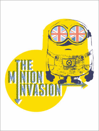 Póster  The Minion Invasion