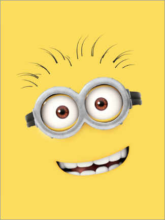 Póster  Silly Minion Face
