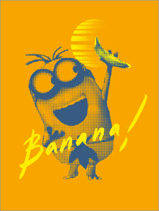 Póster  Banana Sunrise