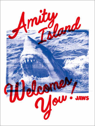 Póster  Welcome to Amity Island!