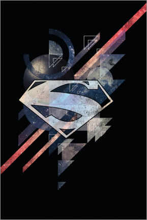 Póster  Superman Power Shield