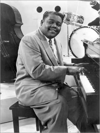 Póster Fats Domino