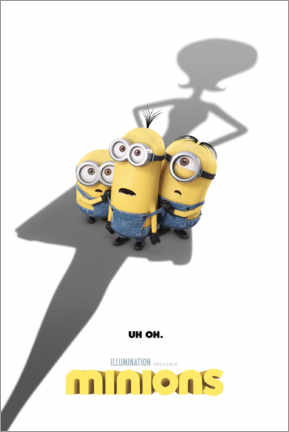 Póster Minions - shadow
